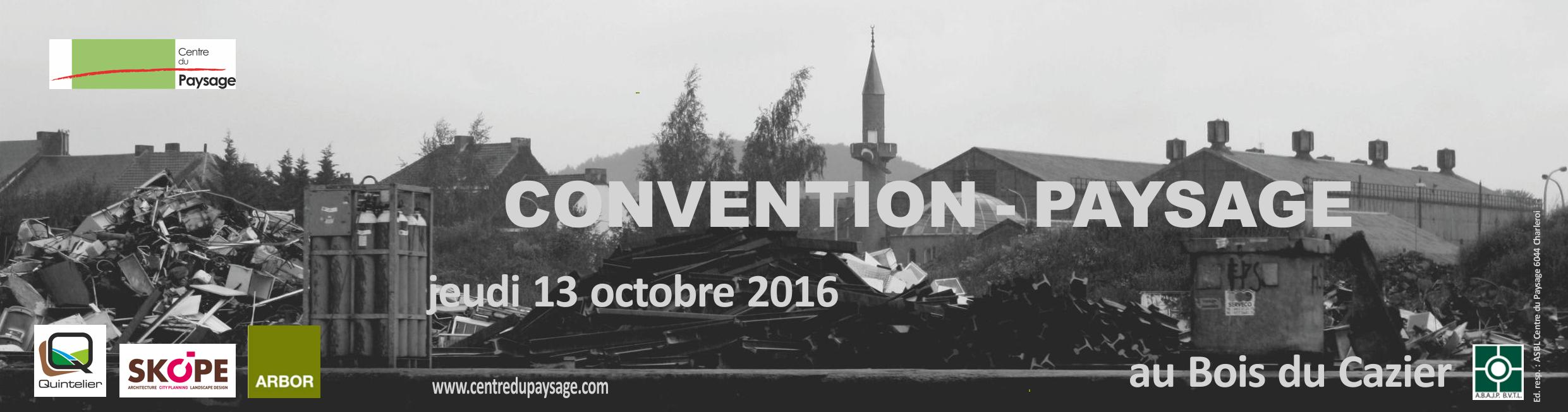 Vue de la Sambre : CONVENTION - PAYSAGE