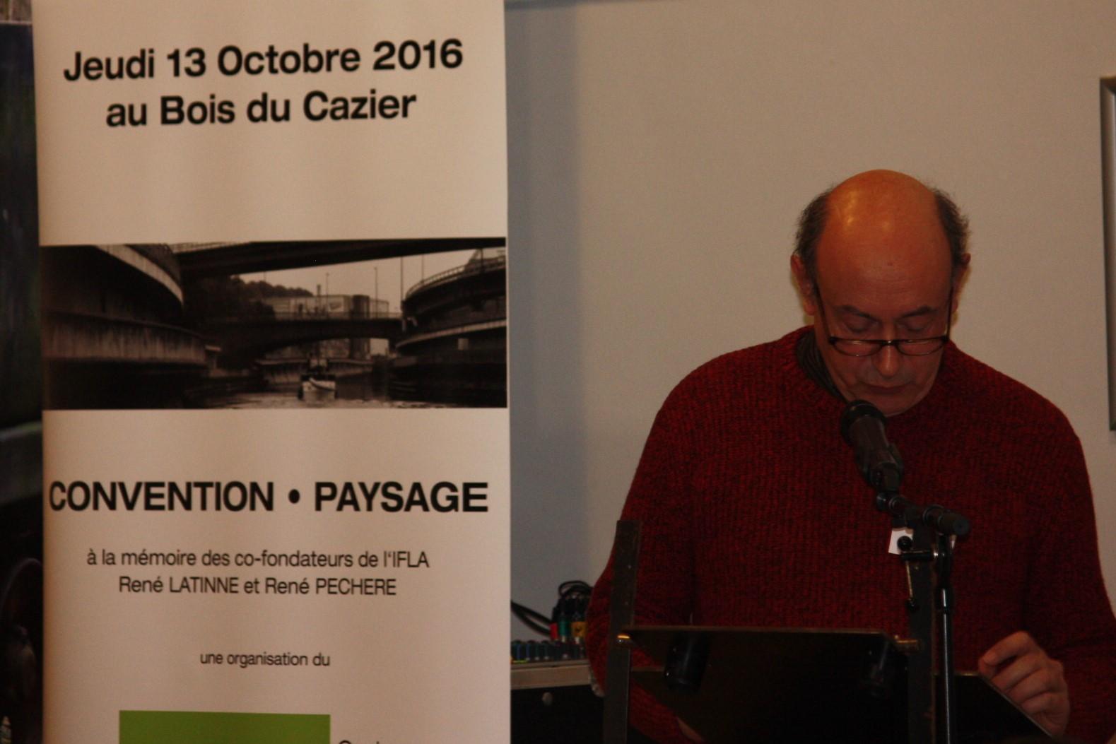 Luc Lampaert ABAJP & Centre du Paysage