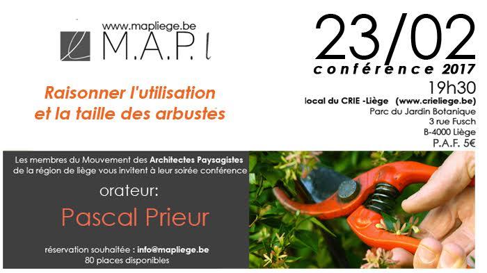 conférence ce 23 février 2017 à 19h30 info de Madame Myriam AUQUIERE